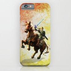 Legend Of Zelda Link Adventure iPhone 6 Slim Case