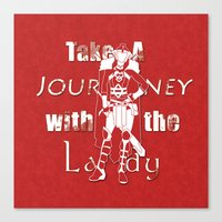 Take A Journey With The … Canvas Print