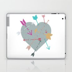 Arrow Heart Laptop & iPad Skin