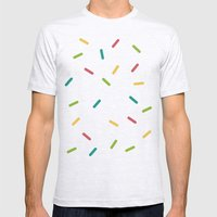 Donut Mens Fitted Tee Ash Grey SMALL