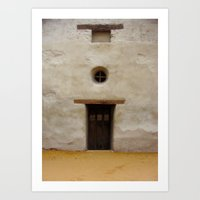 Capistrano Mission Doorw… Art Print
