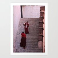 Mindfulness In Passing Art Print