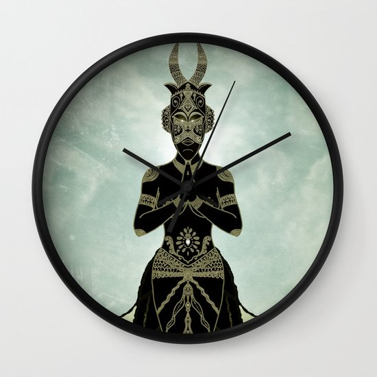 Ornate spirituality Wall Clock
