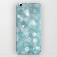 Aqua Bubbles iPhone & iPod Skin