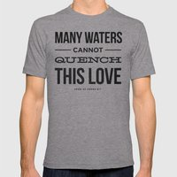 Many Waters Mens Fitted Tee Athletic Grey SMALL