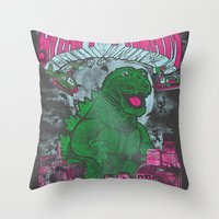 Graff Dream Throw Pillow