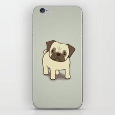Pug Puppy Illustration iPhone & iPod Skin