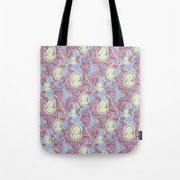 Cameo & Trailing Hair //… Tote Bag