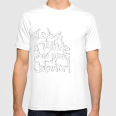 J'adore les ... qu'on peut colorier ! Mens Fitted Tee SMALL White