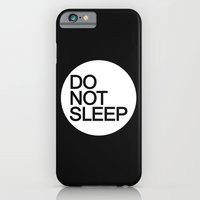 iPhone Cases featuring Do Not Sleep by Dizzy Moments