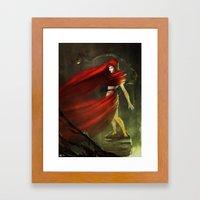 Melisandre Framed Art Print