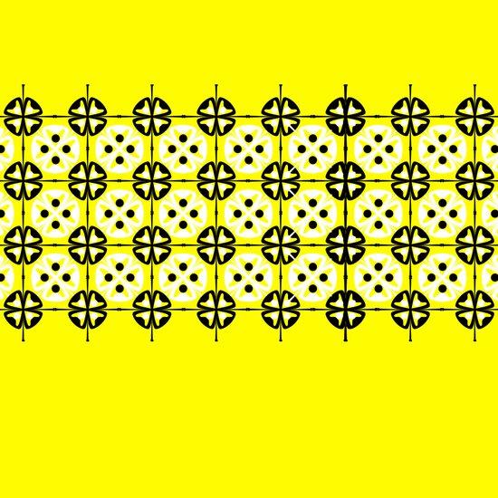 Yellow Fru Fru Art Print