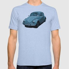 Beetle Blues Mens Fitted Tee Athletic Blue SMALL