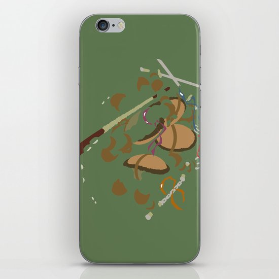 Teenage Mutant Ninja Turtles - Leo Don Raph Mike iPhone & iPod Skin