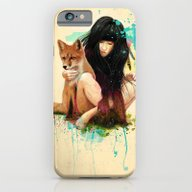 iPhone & iPod Case featuring Fox Love by Ariana Perez