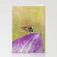 Dance Of The Hoverfly Stationery Cards