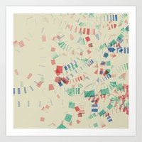 Staccato Art Print