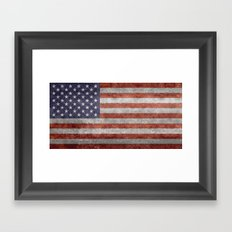 The United States Of Ame… Framed Art Print