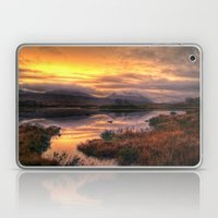 Golden Sunrise Over Loch… Laptop & iPad Skin