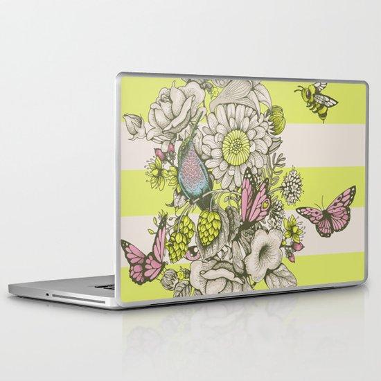 Beauty (eye of the beholder) - striped version Laptop & iPad Skin