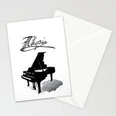 Pianist, Frédéric Chopin Stationery Cards