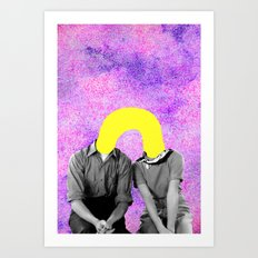 Stay With Us Art Print