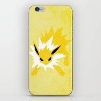 Jolteon iPhone & iPod Skin