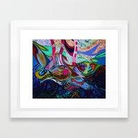 The Revealing Framed Art Print