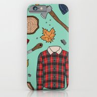 Woodsman Print iPhone 6 Slim Case