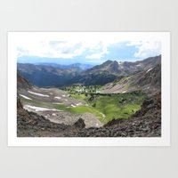 Willow Lakes Art Print