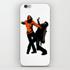 Zombie Fist Fight! iPhone & iPod Skin