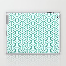 bishamon in emerald Laptop & iPad Skin