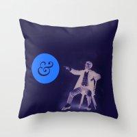 A Stern Ampersand Throw Pillow