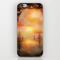 Calling The Sun XX iPhone & iPod Skin