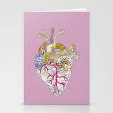 My Heart Is Real Stationery Cards