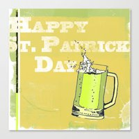 St Patrick's Day Canvas Print