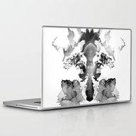 Laptop & iPad Skin featuring Rorschach by Robert Farkas