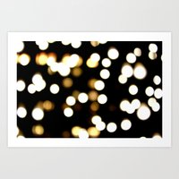 scattered light Art Print