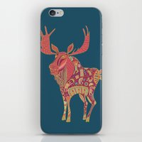 Purple Moose iPhone & iPod Skin