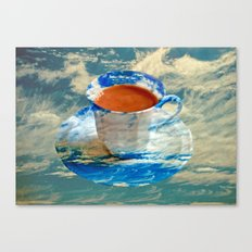 CUP OF CLOUDS Canvas Print
