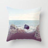 Grand Marais Bay Throw Pillow