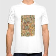 T-shirt featuring - Schematic - by Magdalla Del Fresto