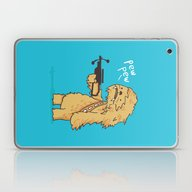 Laptop & iPad Skin featuring Chewy - Pew Pew You're D… by Budi Kwan