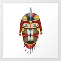 Panzi Reloaded Art Print