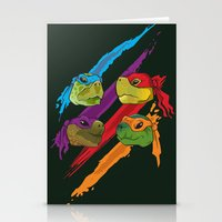 Turtle Heads Stationery Cards
