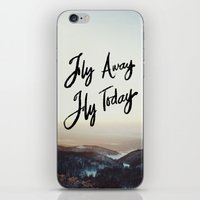 Fly Away Fly Today iPhone & iPod Skin