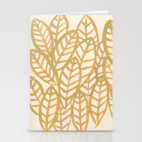 Fronds Stationery Card