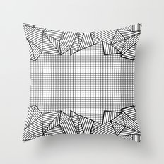 Grids and Stripes   Throw Pillow
