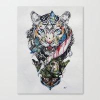 Killing Beauty Canvas Print