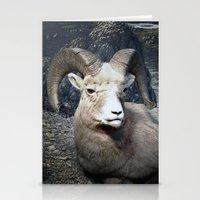 Tom Feiler Mountain Goat Stationery Cards